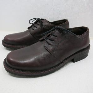 Bass J. D. Series Burgundy Leather Oxfords 10.5 D